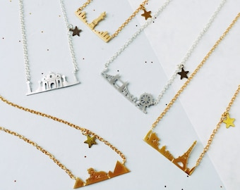 City Skyline Necklaces