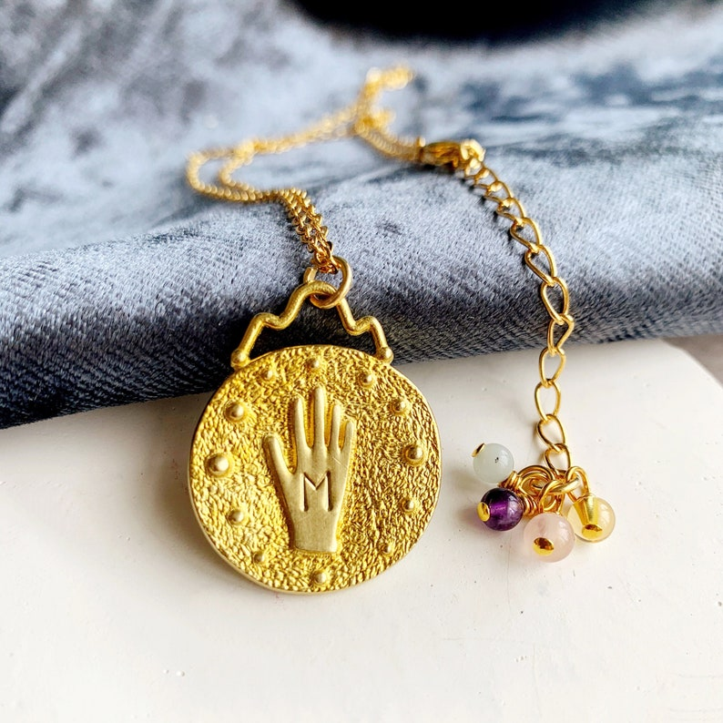 Hand of Destiny Wish Necklace Best Wishes
