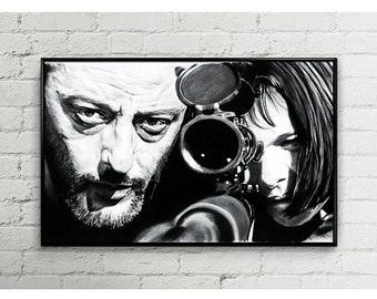 Leon (Digital Art on Canvas)