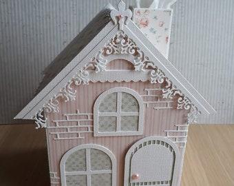 Tissue Box cover House