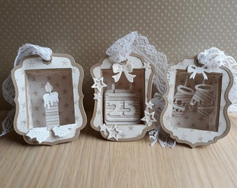 3 Shadow Boxes ( Small )