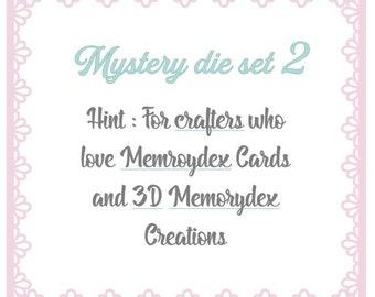 Pré-Order Exclusive CUTTING DIE set : Mystery Memorydex Cutting Die set ( READ Discriptionbox !! )