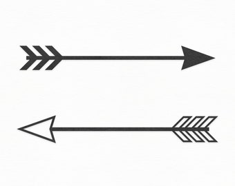 Tribal arrow clipart | Etsy