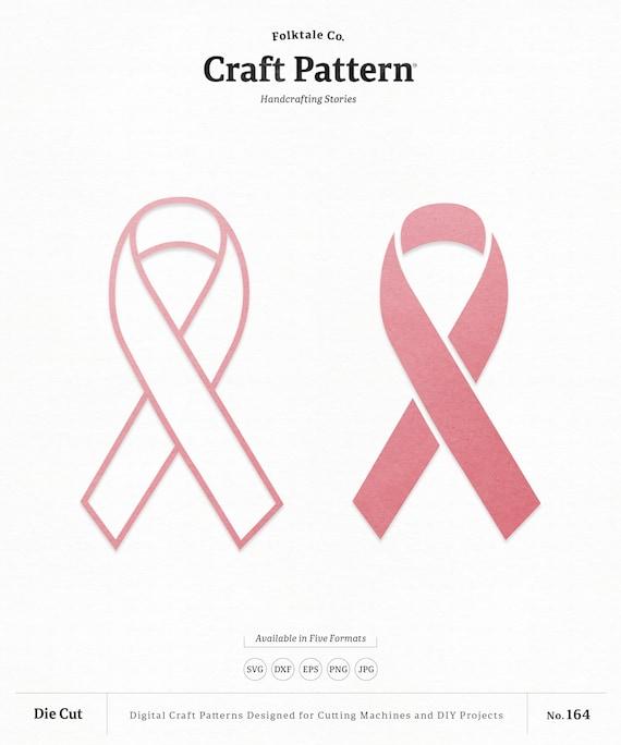 Awareness Ribbon Svg Craft Pattern Ribbon Svg Bow Svg Etsy