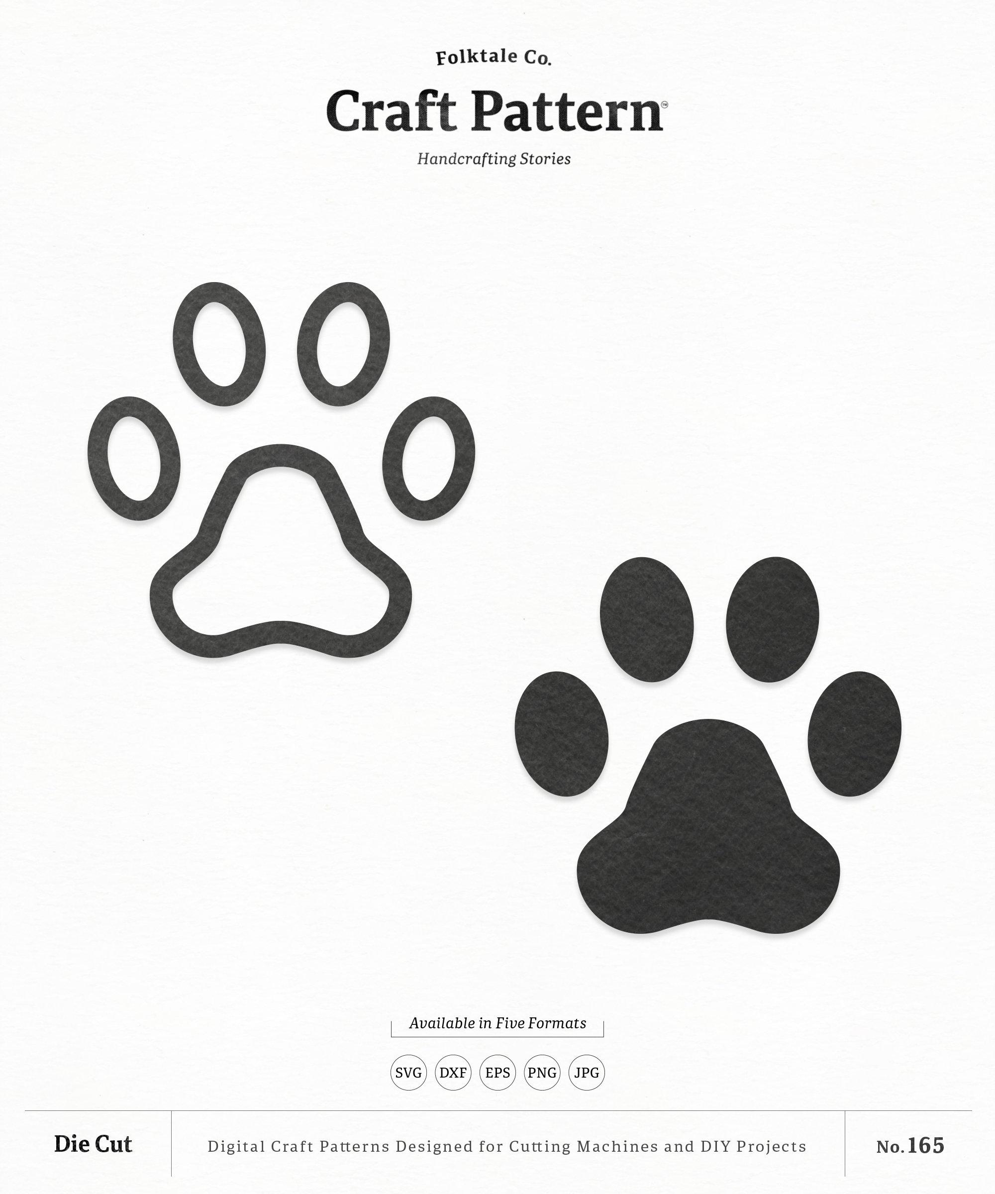 Download Paws SVG Craft Pattern Paw Prints SVG Dog Paw SVG Paw ...