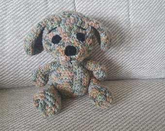 Puppy dog, stuffed dog