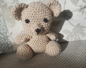 Teddy bear, little brown bear