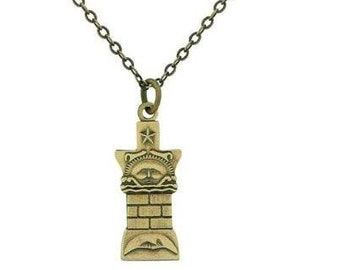 Necklace Nauvoo Temple Pillar Gold - J13