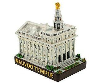 "Nauvoo Temple Replica Mini 2"" S51"