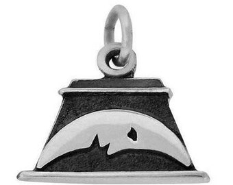 CTR Charm Sterling Silver Nauvoo Temple Moonstone - J50