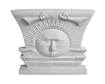 Nauvoo Temple Sunstone Ornament White - S34O