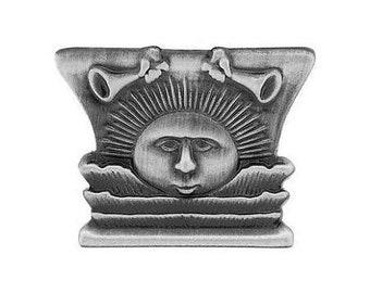 Pin/Tie-Tack Silver Nauvoo Temple Sunstone - J9