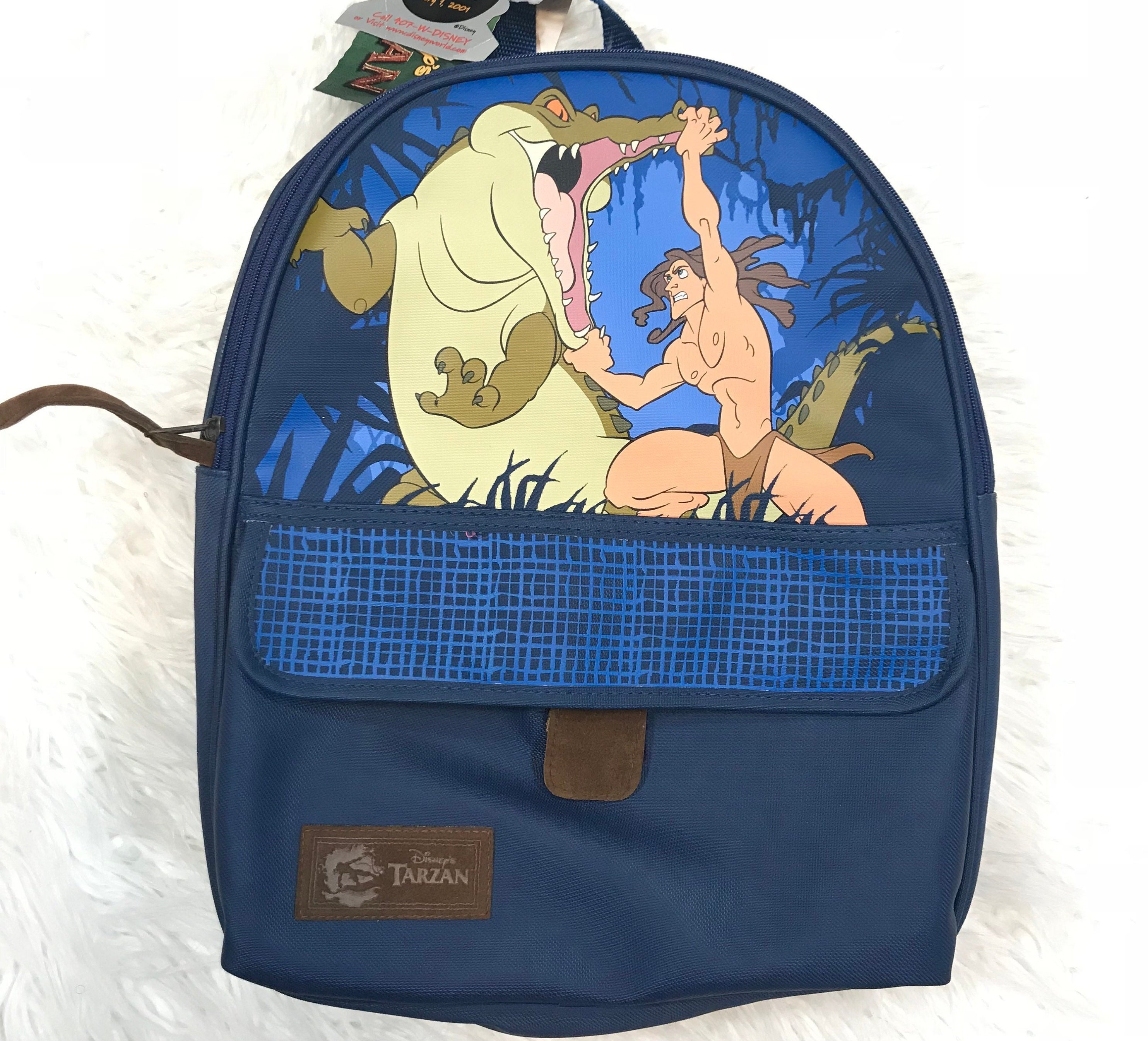 Vintage Disney Tarzan Backpack NWT Pyramid Handbags