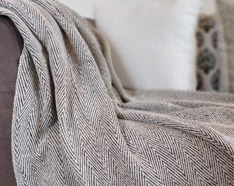Chevron Sofa Throw Blanket c2d7dc48d
