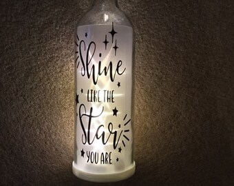 Light Up Wine bottle