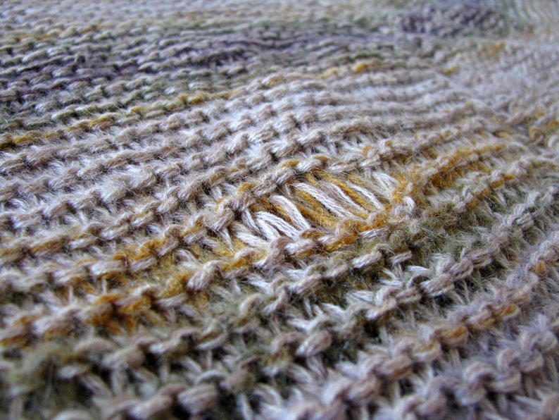 Plus size handknit wool sweater oversized women/'s sweater L-XL