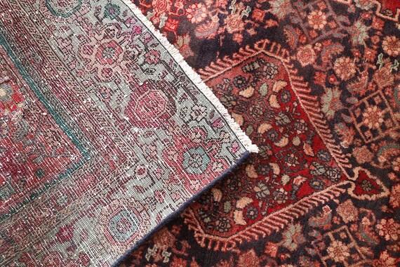Bedroom Rug Floral Area Rug 4x6 Tribal Turkish Rug Free