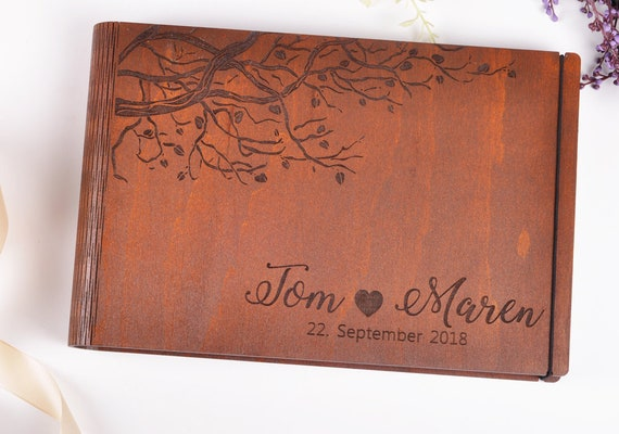 Guest Book Wedding Wedding Guest Book Livre D Or Mariage Photobooth Album