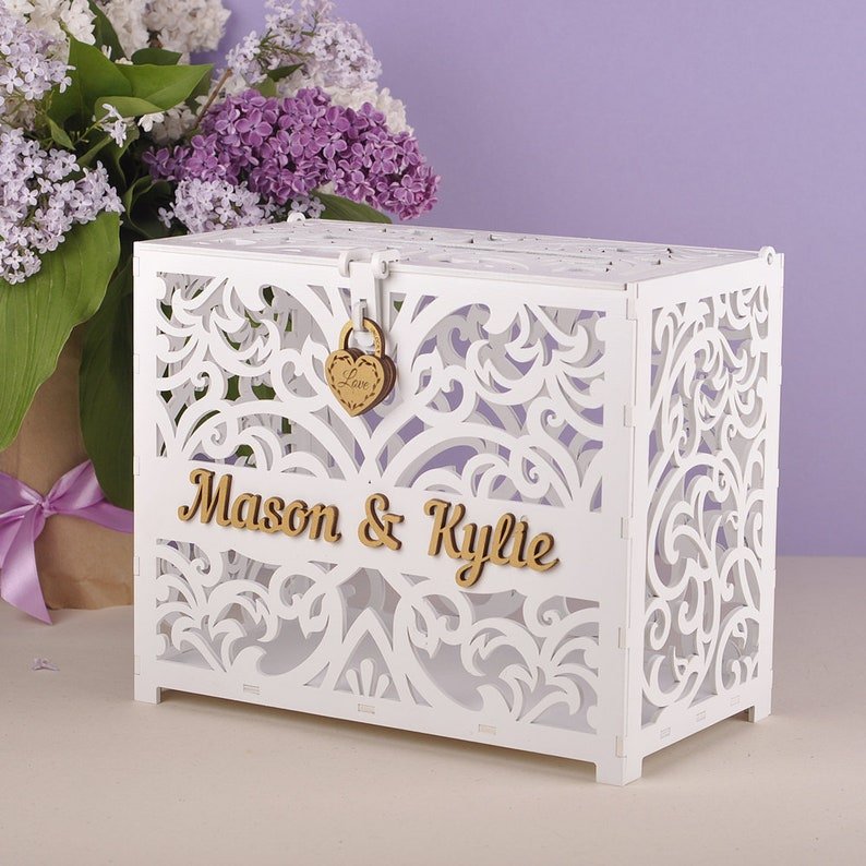 wedding card box wedding card holder