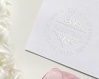 CUSTOM EMBOSSER STAMPEmbosser SealCustom LogoEmboss StampPersonalised EmbosserPocket SealLetter Press StampValentine/'s Day Gift Seal