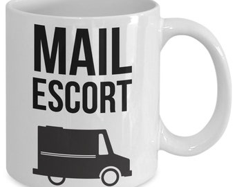 e8749489c3 Funny mail carrier gift postal worker mug post office