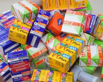 Film! 35mm film, expired 2007 / 2008 / 2011. Color, C41. Kodak Fuji AGFA