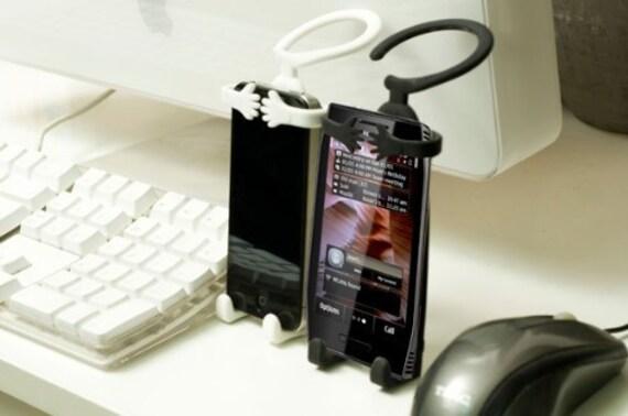 Bondi Silicon Flexible Cell Phone Holder, Black