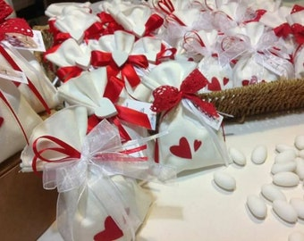 Confetti bag, gift bags, confetted