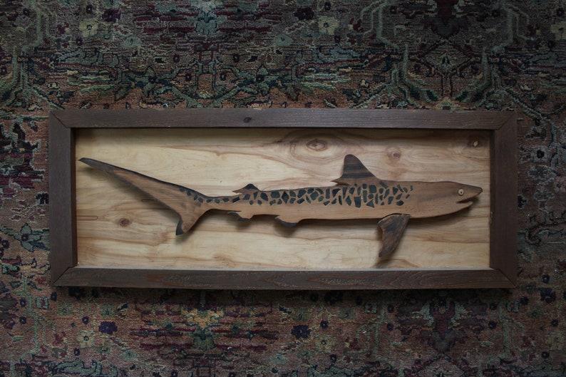 Tiger Shark - Environmental Art
