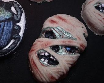 Egyptian Mummy Bath Bomb--Spooky--Halloween--Horror Themed Bath Bombs