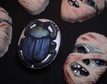 Scarab Beetle Bath Bomb- The Sacred Egyptian Beetle