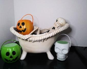 Halloween Bath Bombs in CUTE Jack O' Lantern's!