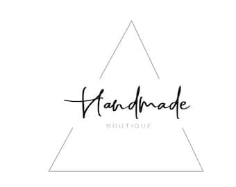 Triangle logo design Calligraphic font Minimalistic logo Business card Premade logo Company logo Branding kit Boutique logo Geometric logo