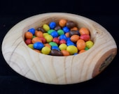 Wooden candy bowl