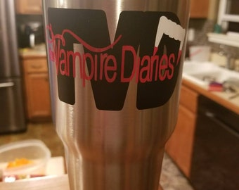 The Vampire Diaries Tumbler 30 oz