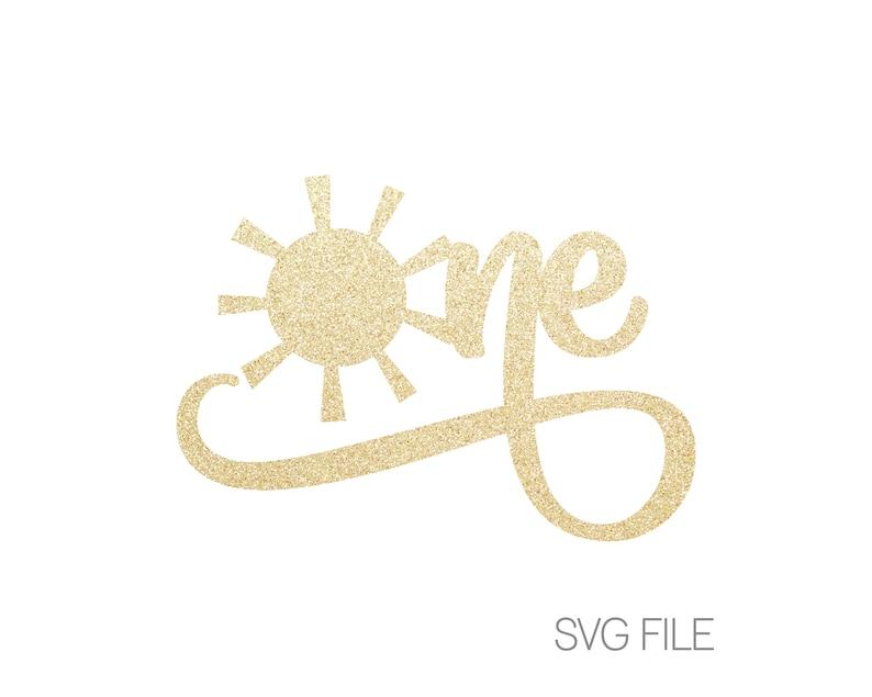 One Sun Svg Sunshine Svg Etsy