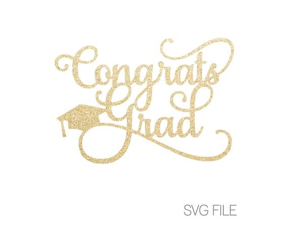 Congrats Grad Svg Class Of 2019 Graduate Digital Etsy