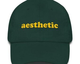 b538eff6a17 Aesthetic Dad hat