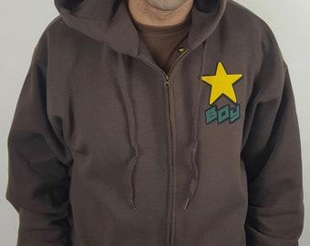 Star boy full zip hoody
