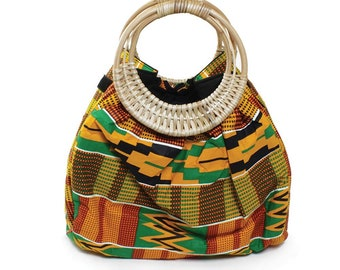Colors Of Ghana Kente Purse