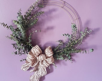 Dried Eucalyptus Wreath