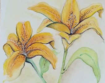 Tiger Lily (sold)