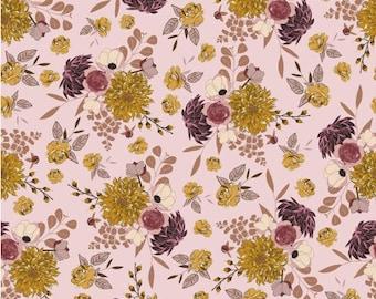 Sonnet Dusk Main Pink Fabric- Riley Blake Designs