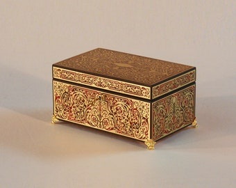 Casket in the style of the Boulle.