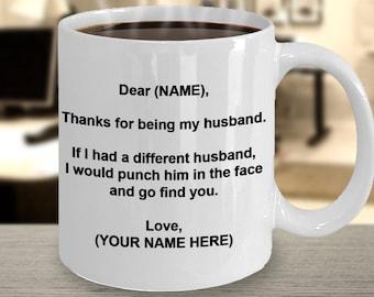 Dear Husband Etsy
