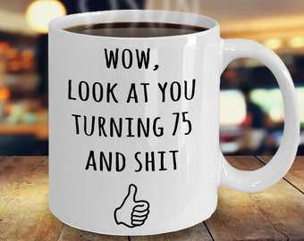 75th Birthday Gifts Funny Gift Ideas Idea For Happy Party Bday Gag Joke