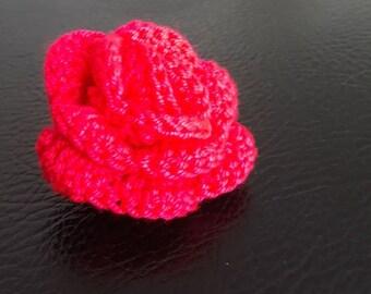 Rose Crochet (blue, pink or purple)