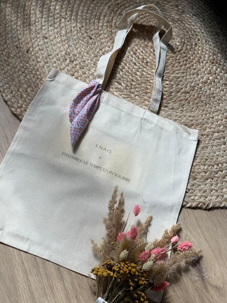 Tote Bag ENAIS X Set The Time Of a Smile image 0