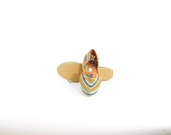 Raffia Shoes For Women /sandales Raphia Femmes /  Bast-Schuhe für Frauen/ Zapatos de rafia para mujer/라피아 신발 여성 /ラフィアシューズレディース/ Scarpe rafia