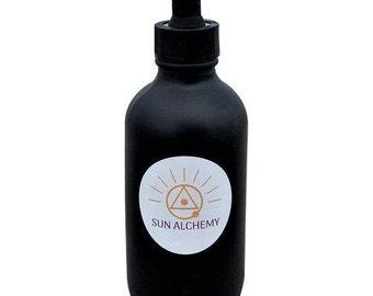 Hemi iron ORMUS (Chaga mushroom,Kale infused ormus) 4 oz monoatomic supplement
